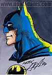 Batman Marker Color Sketch Card 2