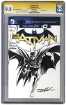Batman 2 - CGC 9.8 Drawn on Batman New 52  #0  Blank
