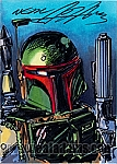 Boba Fett Marker Color Sketch Card
