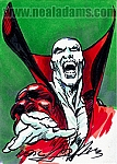 Deadman Marker Color Sketch Card