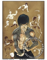 Bruce Lee Color Print