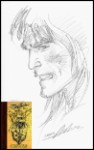 Tarzan Drawn in NA Sketch Book HC