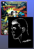 Superman VS Muhammad Ali Facsimile HC with Ali Sketch By Neal Adams