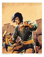 Legend of Kung Fu Print (COPY)