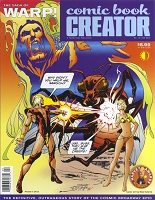 Comic Book Creator #10 Signed by Neal Adams